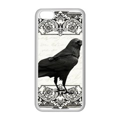 Vintage Halloween Raven Apple Iphone 5c Seamless Case (white)