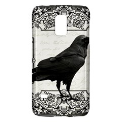 Vintage Halloween Raven Galaxy S5 Mini