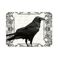Vintage Halloween Raven Double Sided Flano Blanket (mini)