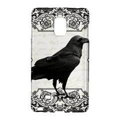 Vintage Halloween Raven Galaxy Note Edge