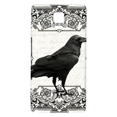 Vintage Halloween Raven Galaxy Note 4 Back Case