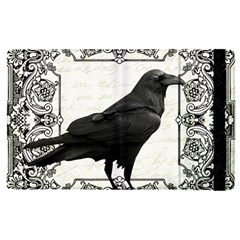 Vintage Halloween Raven Apple Ipad Pro 9 7   Flip Case