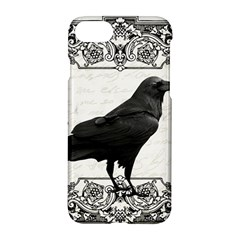 Vintage Halloween Raven Apple Iphone 7 Hardshell Case
