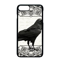 Vintage Halloween Raven Apple Iphone 7 Plus Seamless Case (black)