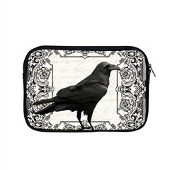 Vintage Halloween Raven Apple Macbook Pro 15  Zipper Case