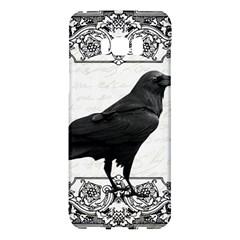 Vintage Halloween Raven Samsung Galaxy S8 Plus Hardshell Case