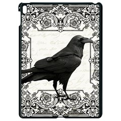 Vintage Halloween Raven Apple Ipad Pro 9 7   Black Seamless Case
