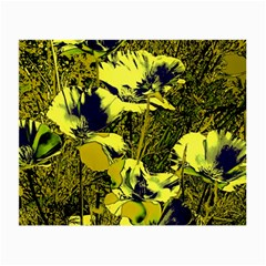 Amazing Glowing Flowers 2c Small Glasses Cloth (2 Side)