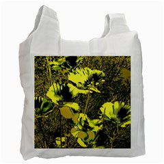 Amazing Glowing Flowers 2c Recycle Bag (two Side)