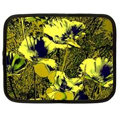 Amazing Glowing Flowers 2c Netbook Case (xxl)