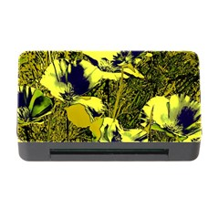Amazing Glowing Flowers 2c Memory Card Reader With Cf