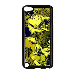 Amazing Glowing Flowers 2c Apple Ipod Touch 5 Case (black)