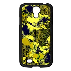 Amazing Glowing Flowers 2c Samsung Galaxy S4 I9500/ I9505 Case (black)