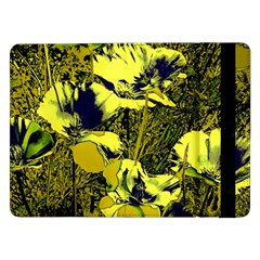 Amazing Glowing Flowers 2c Samsung Galaxy Tab Pro 12 2  Flip Case