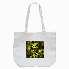 Amazing Glowing Flowers 2c Tote Bag (white)