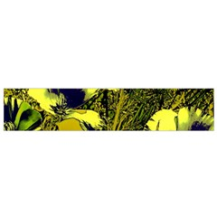 Amazing Glowing Flowers 2c Flano Scarf (small)