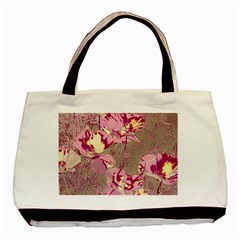 Amazing Glowing Flowers 2b Basic Tote Bag