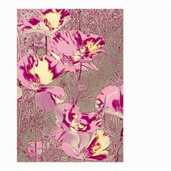 Amazing Glowing Flowers 2b Small Garden Flag (two Sides)