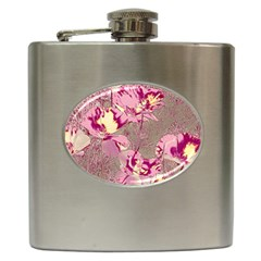 Amazing Glowing Flowers 2b Hip Flask (6 Oz)