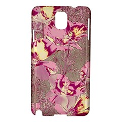 Amazing Glowing Flowers 2b Samsung Galaxy Note 3 N9005 Hardshell Case