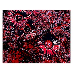 Amazing Glowing Flowers C Rectangular Jigsaw Puzzl