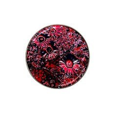 Amazing Glowing Flowers C Hat Clip Ball Marker