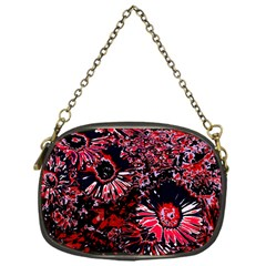 Amazing Glowing Flowers C Chain Purses (one Side)