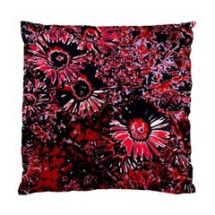 Amazing Glowing Flowers C Standard Cushion Case (two Sides)