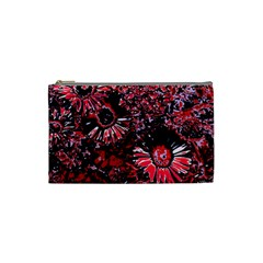 Amazing Glowing Flowers C Cosmetic Bag (small)