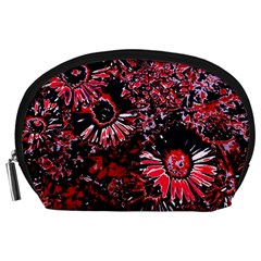 Amazing Glowing Flowers C Accessory Pouches (large)