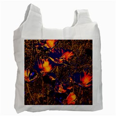 Amazing Glowing Flowers 2a Recycle Bag (two Side)