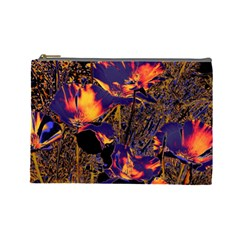 Amazing Glowing Flowers 2a Cosmetic Bag (large)
