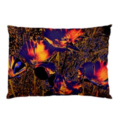Amazing Glowing Flowers 2a Pillow Case (two Sides)