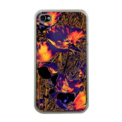 Amazing Glowing Flowers 2a Apple Iphone 4 Case (clear)