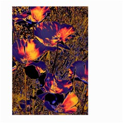 Amazing Glowing Flowers 2a Large Garden Flag (two Sides)