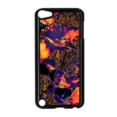 Amazing Glowing Flowers 2a Apple Ipod Touch 5 Case (black)