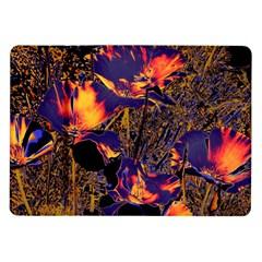 Amazing Glowing Flowers 2a Samsung Galaxy Tab 10 1  P7500 Flip Case