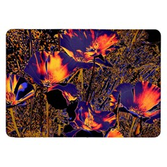 Amazing Glowing Flowers 2a Samsung Galaxy Tab 8 9  P7300 Flip Case