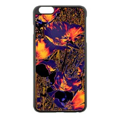 Amazing Glowing Flowers 2a Apple Iphone 6 Plus/6s Plus Black Enamel Case