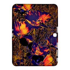 Amazing Glowing Flowers 2a Samsung Galaxy Tab 4 (10 1 ) Hardshell Case
