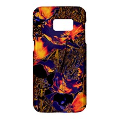 Amazing Glowing Flowers 2a Samsung Galaxy S7 Hardshell Case