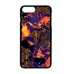 Amazing Glowing Flowers 2a Apple Iphone 7 Plus Seamless Case (black)