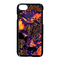 Amazing Glowing Flowers 2a Apple Iphone 7 Seamless Case (black)