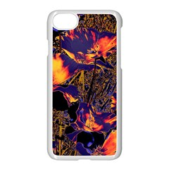 Amazing Glowing Flowers 2a Apple Iphone 7 Seamless Case (white)