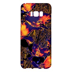Amazing Glowing Flowers 2a Samsung Galaxy S8 Plus Hardshell Case
