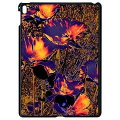 Amazing Glowing Flowers 2a Apple Ipad Pro 9 7   Black Seamless Case