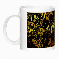 Amazing Neon Flowers B Night Luminous Mugs