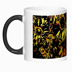 Amazing Neon Flowers B Morph Mugs