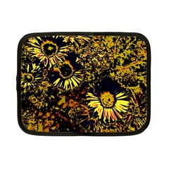 Amazing Neon Flowers B Netbook Case (small)