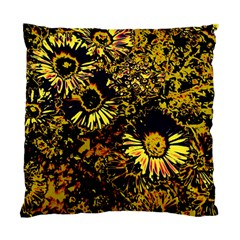 Amazing Neon Flowers B Standard Cushion Case (one Side)